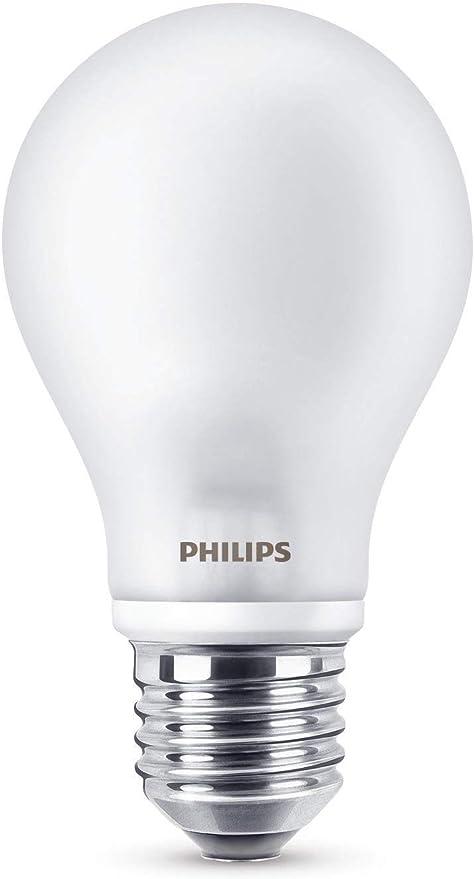 Philips LED classic Lampe ersetzt 60 W, E27, warmweiß (2700K), 806 Lumen