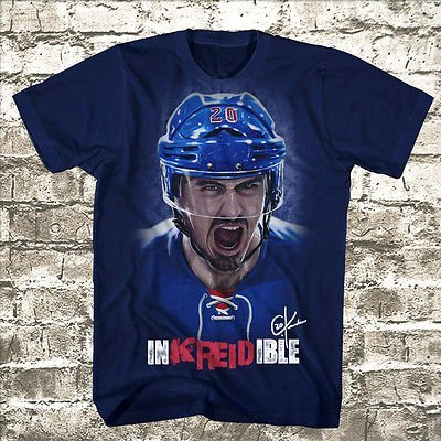 Image Unavailable. Image not available for. Color  Chris Kreider New York  Rangers Official Inkreidible Adult T-Shirt ... 38ad8fe3286
