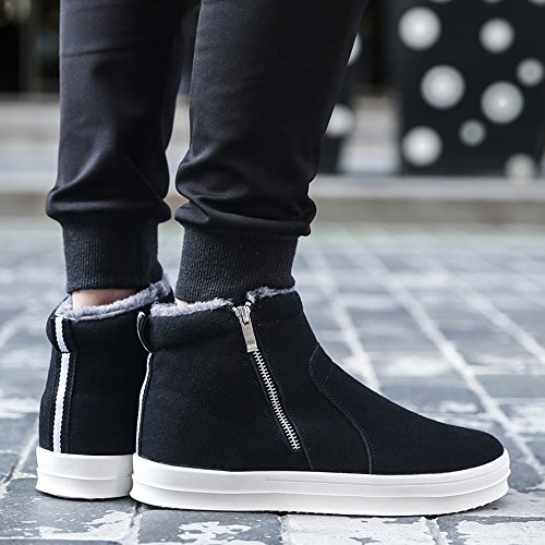 CN40 Warm Help Color 2 Feifei Shoes Leisure 5 Material High Keep Winter Black UK6 Men's Colours Non High Slip Cotton Boots Quality Size EU39 x0g74wcnZq