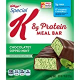 Kellogg's Special K Protein Meal Bars, Chocolatey Dipped Mint Brownie, 5 Count Box
