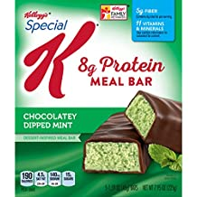 Special K Protein Meal Bars, Chocolately Dipped Mint, 7.9 oz