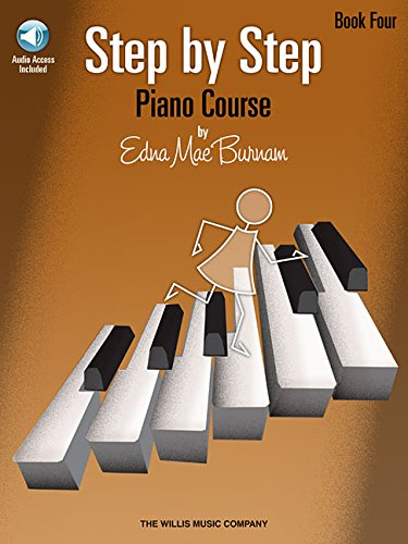 Step by Step Piano Course - Book 4 with Online Audio (Step by Step (Hal Leonard))