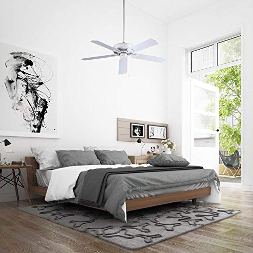 Miseno MFAN-5101BK 52'' Indoor/Outdoor Ceiling Fan - Includes 5 ABS Blades
