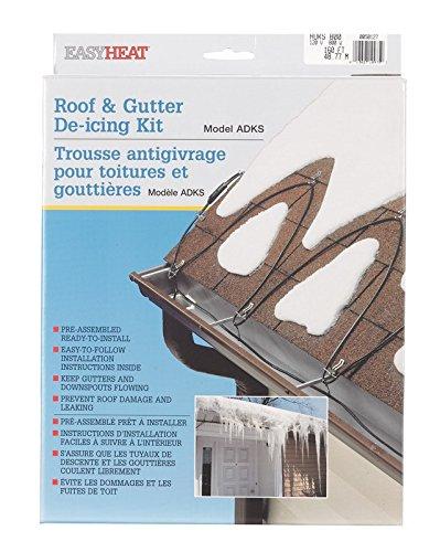 Easy Heat ADKS-800 160-Foot Roof Snow De-Icing Kit