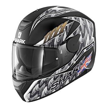 Carl Foggy Matt KAS Shark D-Skwal Dark Skwal DVS Full Face Motorcycle Helmet