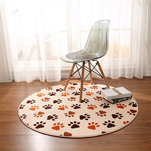 GIY Soft Round Area Rugs Living Room Carpet