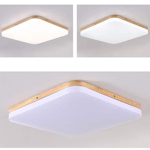 Amazon.com: Nclon - Lámpara de techo cuadrada ultrafina LED ...