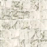 Miniature Square White Marble Tile Flooring by dollhouse