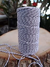 Quasimoon Lavender Bakers Twine Decorative Craft String (110 Yards) by PaperLanternStore