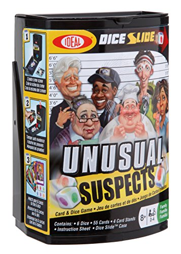 Ideal Unusual Suspects Dice Card