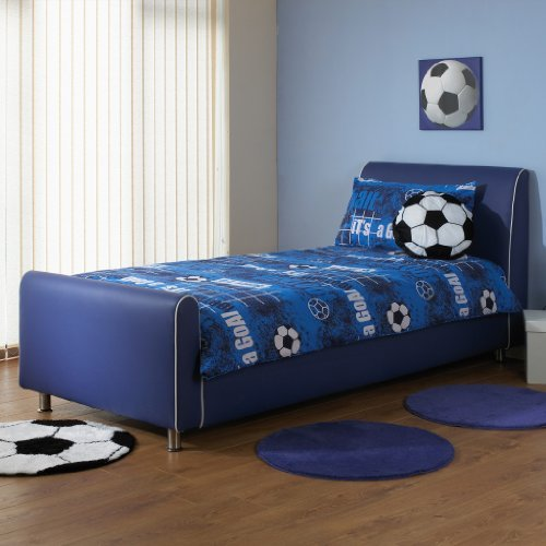 Leather Bedstead - 1