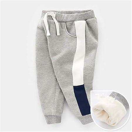 Cintura elástica Informal para niños Pantalones de chándal de algodón Pantalones de Jogger de Cintura Ajustable Pantalones (Color : Gris, tamaño : 110): Amazon.es: Hogar