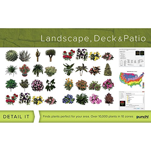 Punch software 8132629 punch landscape deck and patio for Landscape design computer programs