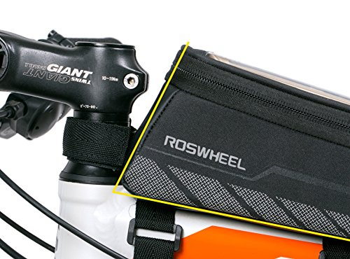 Roswheel Bicycle Frame Pannier & Front Tube Cell Phone Bag