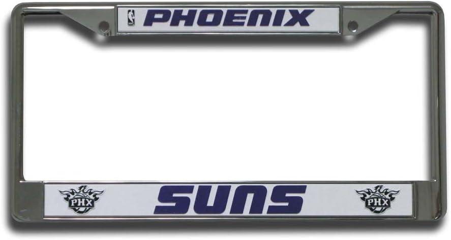Rico Industries NBA Fan Shop Easy View Chrome License Plate Frame