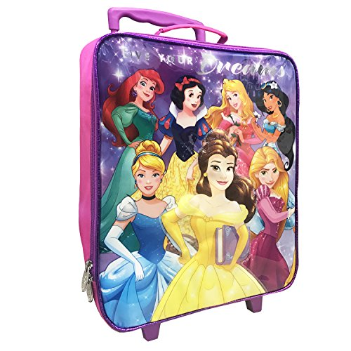 Disney Girls' Princess Pilot Case, - Kids Pilot Case