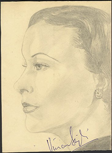 Vivien Leigh – Sketch Signed