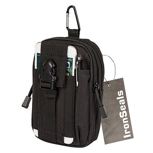 449292d79e10 Details about Tactical Molle Pouch Compact EDC Utility Gadget Belt Waist  Gear Bag W Cell Phone