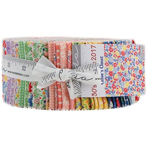 Moda Fabric Strips - 6