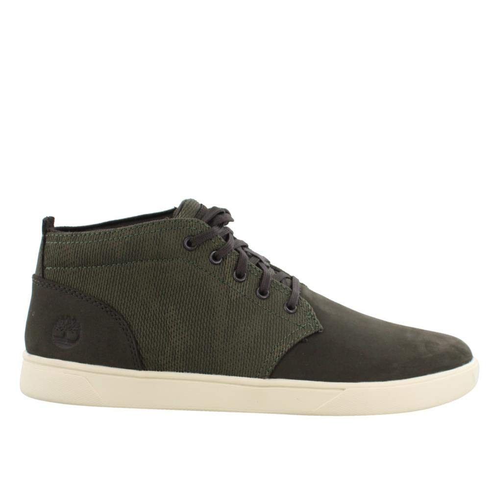1c67a9afead2e9 Timberland Men s Groveton LTT Chukka Leather   Fabric Sneaker product image