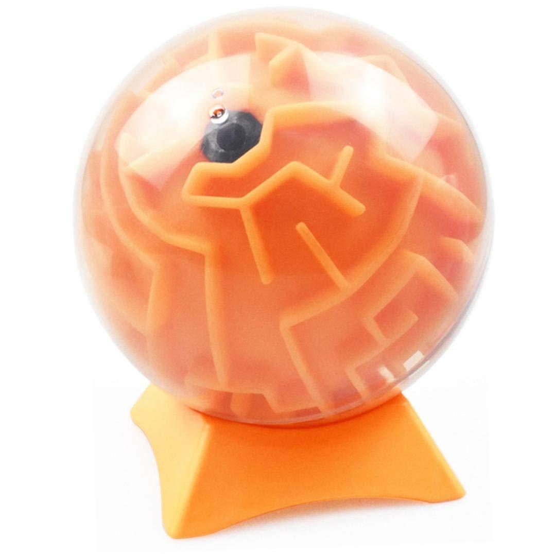 Ogquaton Maze Ball Stand Mini 3D Magic Puzzle Inteligencia e idea Maze Game Toys Base Duro desaf/ío Laberinto Regalos para ni/ños y adultos Base solo Duradero y pr/áctico
