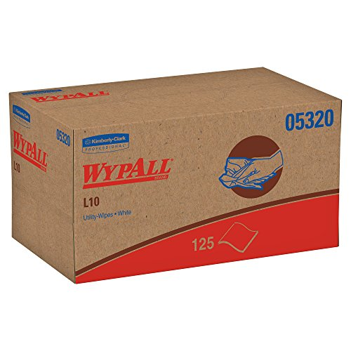 Kimberly-clark Wypall L10 Disposable Wipers (05320), Limi...