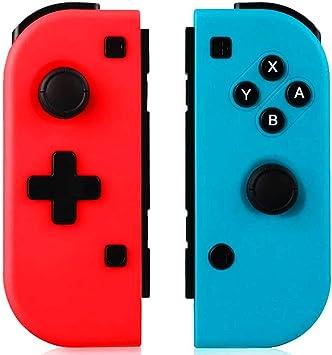 GEEMEE Mando para Nintendo Switch, Bluetooth Wireless Controller Gamepad Joystick Controlador De Reemplazo Izquierdo Y Derecho para Joy con: Amazon.es: Electrónica