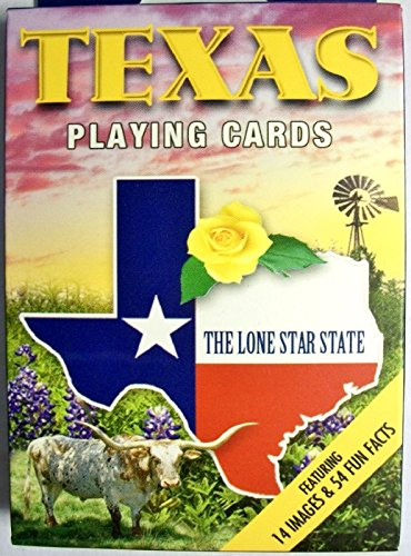 Texas Playing Cards - 4