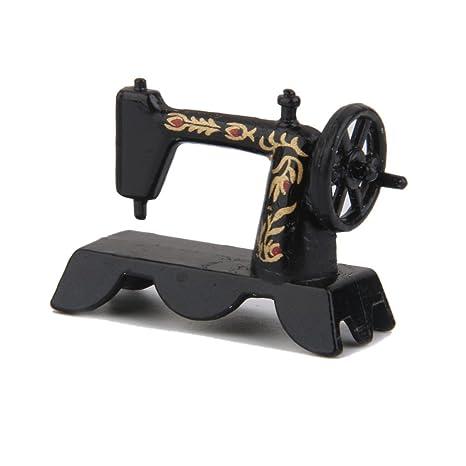 Rcdxing Figura Decorativa para Máquina de Coser (Tamaño 1:12)