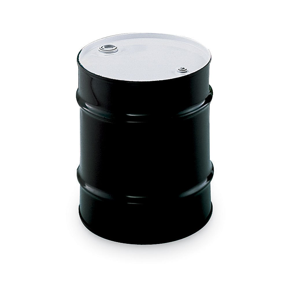 Skolnik Carbon Steel Drums - Closed-Head Drums - 30-Gal. Capacity - Black