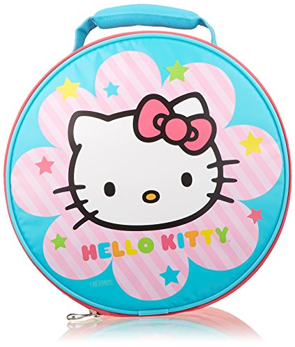 Hello Kitty Pink Round Lunch Bag/Tote -