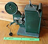Keystone Kinescope Film Projector Green Vintage Reel movie projector hand crank