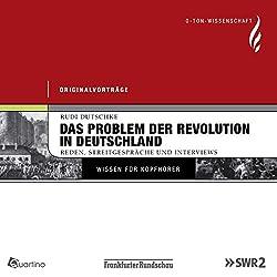 Das Problem der Revolution in Deutschland