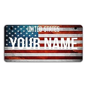 blank glitter license plate