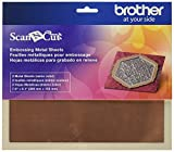Brother CAEBSBMS1 Embossing Brass Metal Sheets,Brass