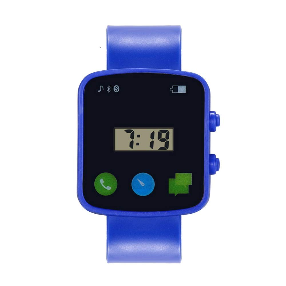 AGUIguo Watches for Kids Children Fashion LED Sport Watches (Blue)
