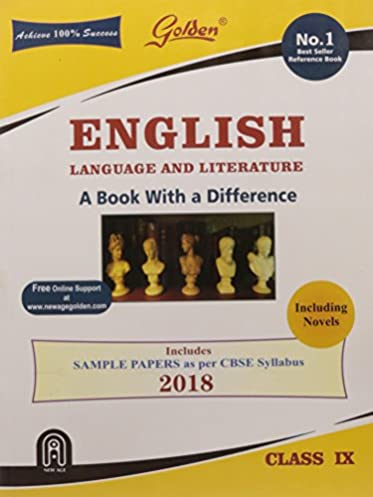amazon in buy golden english language and literature with sample rh amazon in CBSE Schools CBSE Projects