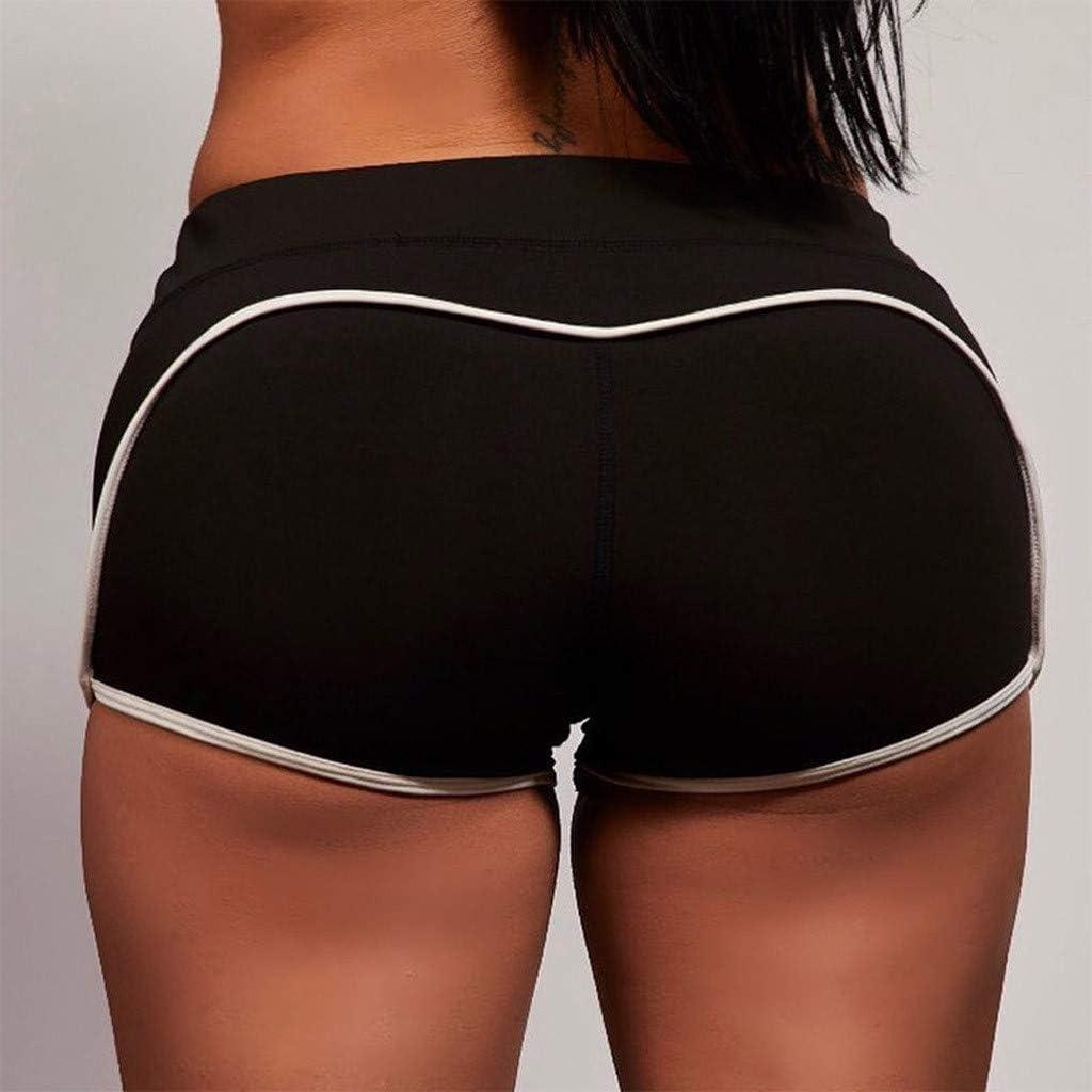 Women Workout Yoga Shorts High Waist Sports Shorts Casual Hip Fitness Pants Yoga Pant Teresamoon