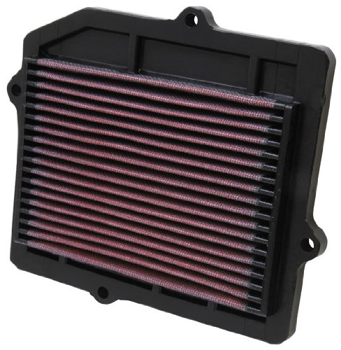K&N Replacement Air Box Panel Filter 33-2025 for 87-91 Honda CRX 1.5L 1.6L ()