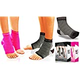 Physix Gear Plantar Fasciitis Socks with Arch Support for Men & Women - Best 24/7 Compression Foot Sleeve for Aching Feet & Heel Pain Relief - Washes Well, Holds Shape & Better Than a Night Splint