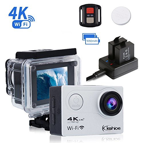 Ultra 4K Action Camera (Silver) Set Of 2 - 2