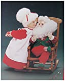 Christmas Love Mr. and Mrs.Clause Animated Collectible- Plays 4 Christmas Songs