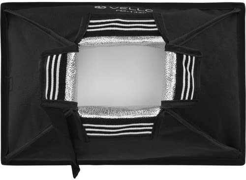 Large, 8 x 12 2 Pack Vello Softbox for Portable Flash