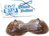 Bosom Buddies, Solid Milk Chocolate Bosom Buddies Sexy Sweets Unique Novelty Gift Boxed Solid Milk Chocolate Breasts