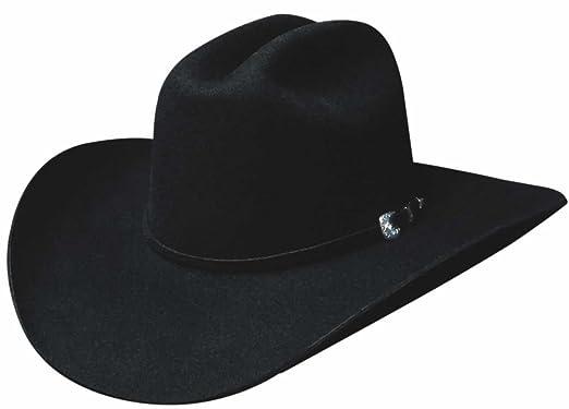Montecarlo Bullhide Hats - RUIDOSO 6X PREMIUM WOOL Western Cowboy Hat -  Black (7- 0374358abd9