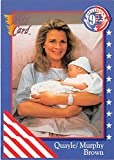 #8: Candice Bergen trading card Murphy Brown 1992 Election #49