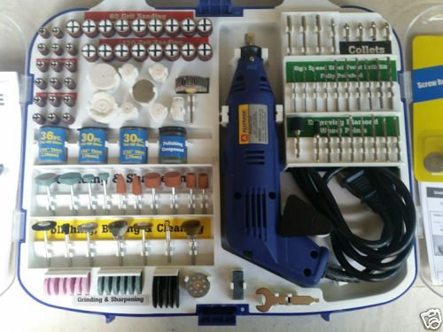ALLTRADE 206 Piece Rotary Tool and Accessory Set