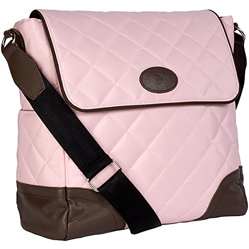 Jp Lizzy Baby Bag - JP Lizzy Clara Diaper Bag in Strawberry Truffle 11 in. H x 11 in. W x 5.5 in. D
