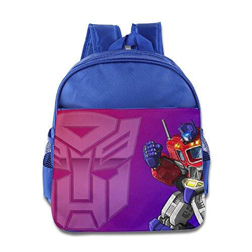 Autobot Leader - Autobots Leader Optimus Prime Toddler School Bag RoyalBlue