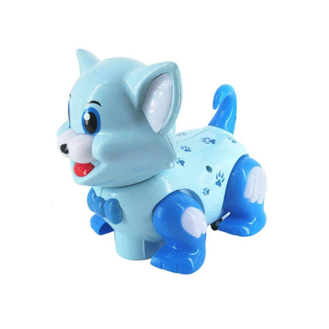 Acecoree Electric Intelligent Dog Cat with Music Lights Moving Shaking Children Toy Electronic Pets